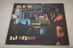 Vintage Record REO Speedwagon: Hi Infidelity by FloridaFinders