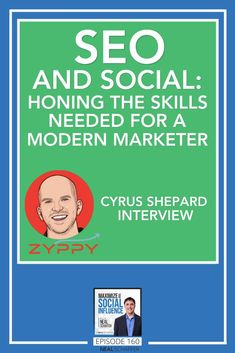 What is the connection, and even the similarities, that marketers who want to improve at both SEO as well as social media need to have? Join me in this interview with one of the world's leading experts, Cyrus Shepard, SEO Advisor for MOZ. Digital influence isn't just about influence on social networks, it's also influence you hold in the search engines! That's why this conversation was so exciting and stimulating for me, so I'm sure it will be worth your time. #SEO #marketing… Online Marketing Strategies, Content Marketing Strategy, Seo Marketing, Influencer Marketing, Facebook Marketing, Social Media Marketing, Affiliate Marketing, Social Media Tips, Social Networks