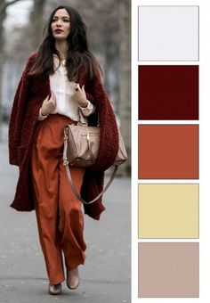 Best Fall Fashion Trends For Women - Fashion Trends Colour Combinations Fashion, Color Combinations For Clothes, Fashion Colours, Colorful Fashion, Color Combos, Deep Autumn, Warm Autumn, Fall Fashion Trends, Autumn Fashion