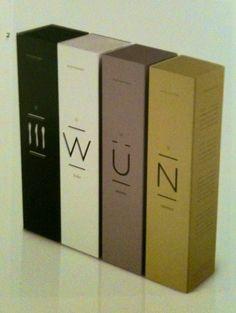 Sleek packaging