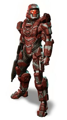 Halo 4 Defender Armor