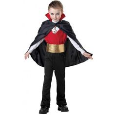 $26.99  Halloween Vampire Boys Knight Costumes With Cloak
