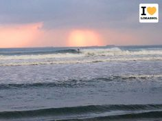 Cool surfer catching some big waves at Malindi Beach. End of December 2013 in #Limassol #Cyprus.