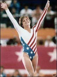 Mary Lou Retton wins gold