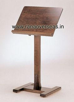 Wooden Menu Stand Nicely designed Wooden Menu Stand. We have different elegantly designed Menu Stands available in different sizes and styles.
