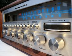 Vintage Audio for My Record Player.  Consider Marantz Pre 1978 models like 2252b, 2285b and 2230    http://www.audiokarma.org/forums/showthread.php?t=169507