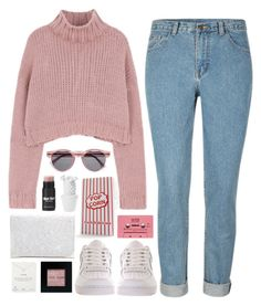 """""""March"""" by brigitta-bodoki ❤ liked on Polyvore featuring Alexander Wang, Illesteva, NIKE, Nespresso, Bobbi Brown Cosmetics, CASSETTE and Dogeared"""