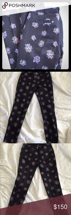 Club Monaco silk wool pants 69% silk 31% wool. 29 inch inseam. Condition as shown and reflected in price. This item is in good condition but it has been worn please ask any questions before purchasing. This item will only be traded for an autographed Authentic Chanel original, a Lamborghini, a penthouse in Paris, or the services of an Audi mechanic. All orders will be recorded before shipping. I do not model. Please see my reasonable offer chart before submitting an offer. Club Monaco Pants…