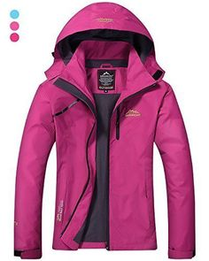 CIOR Men and Womens Waterproof Jacket raincoat Windproof Jackets Outdoor Hooded Softshell Sports OutwearBCFY01Purple02L ** Click for more Special Deals #Fitness#Ladies#Yoga#Exercise#Power#Fashion #RaincoatsForWomenFit