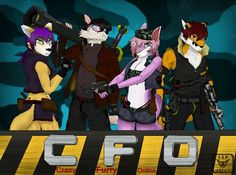 Crazy Furry Online...  I wish i can make the real game one :/