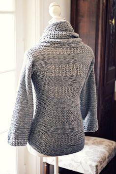 Crochet cardigan PATTERN (pdf file) - Ladies' Shrug - Cardigan - LoveItSoMuch.com