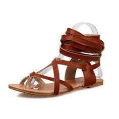 new arrival 765bf 1bb0b Ankle Wrap Women Sandals