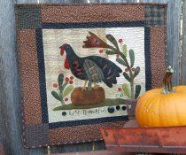 Quilts by Cheri--turkey quilt