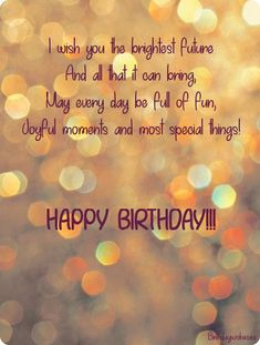 On this page you will find a collection of happy birthday poems for friends as well as beautiful birthday images with rhymes. Rhyming birthday wishes sound more fun and easy than just a greeting text, so choose the poem and card that you like most. Birthday Poem For Friend, Happy Birthday Nephew, Happy Birthday Best Friend Quotes, Birthday Poems, Birthday Wishes For Myself, Funny Birthday Message, Birthday Msgs, Best Happy Birthday Quotes, Birthday Prayer