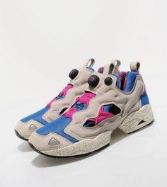ReebokPump Fury- Grey/Pink/Blue