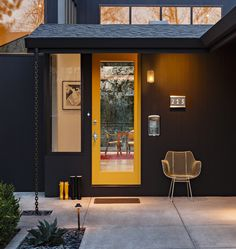 Atlas Exterior Door Set | Rejuvenation - best mid century modern door hardware (comes in brass, polished & brushed chrome)
