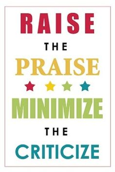 """Raise the praise - minimize the criticize. Be part of the 'Construction Team' rather than the 'Wrecking Crew! Wait long enough, and people will surprise and impress you."""" –Randy Pausch (from his book 'The Last Lecture') Great Quotes, Me Quotes, Motivational Quotes, Inspirational Quotes, Motto Quotes, Family Quotes, Mantra, The Last Lecture, Praise And Worship"""