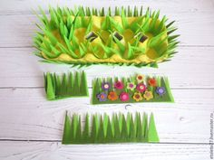 Preparing for Easter: Making a Stand for Easter Eggs – Livemaster Easter Crafts For Kids, Summer Crafts, Fall Crafts, Diy And Crafts, Christmas Crafts, Felt Flowers, Paper Flowers, Toddler Arts And Crafts, How To Make Snowflakes