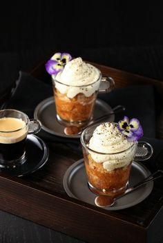 NESPRESSO Vanilio and Vanilla Rum Babas by Justine Schofield.  View full recipe here: http://j.mp/115bRyF