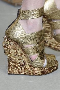 Rodarte  - Shoes fit for a Venetian principessa.