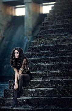 Creative Photography by Simona Smrčková-- I like the haunted look of this photo.