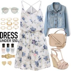 How To Wear A Vintage Dress With Sandals