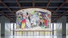 Primera colaboración del pintor estadounidense Frank Stella junto al arquitecto valenciano Santiago Calatrava