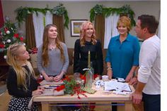 Home & Family - Tips & Products - Andrea Schroder's Family Room Christmas Decorations | Hallmark Channel
