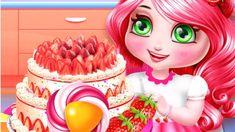 Strawberry Cake - To Shortcake - Decorating Shortcake Games - Kids Games Cooking Games For Kids, Strawberry, Make It Yourself, Decorating, Cake, Decoration, Pastel, Kuchen, Strawberry Fruit