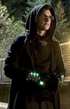 "Hartley Rathaway a.k.a. Pied Piper played by Andy Mientus. Introduced in season one of CW's ""The Flash."""