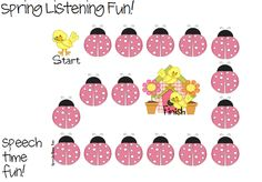 Speech Time Fun: Spring Listening Fun! Listening for Categories, Sequences, Desriptions and Inferencing!