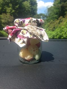 #wedding #sweets #cute #vintage #jar #floral