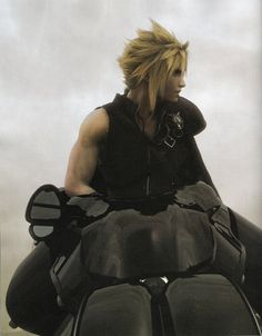 Final Fantasy VII - Cloud    I love this picture its one of my most favorite pic of Cloud