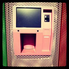Sprinkles Cupcakes (the woman who started the cupcake craze herself) new 24-hour cupcake ATM...this is true!!