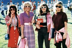 Maureen Teefy, Lorna Luft, Alison Price and Michelle Pfeiffer in 1982's Grease 2.