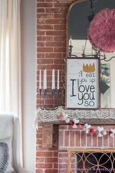 A Little Pop of Valentine's Day in Our Living Room. Sharing a little pop of LOVE and pink in our fun boho style living room! Interior Rugs, Interior Trim, Cafe Interior, Interior And Exterior, Living Room Candles, Rugs In Living Room, Living Room Decor, Cozy Living, Dining Table Cloth
