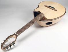 Lardy Fatboys Chordophone of the Day — Hempstone Bowlback by Canna Guitars Lardy's...