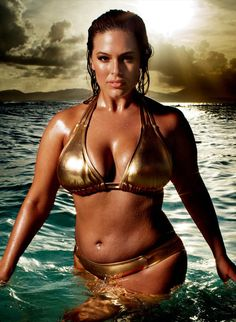 SI's Swimsuit Issue Makes a Splash by Starring Women of Different Ages, Shapes, and Colors. #fashion #ashleygraham