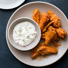 Ready in under an hour, this easy chicken wing recipe is the perfect snack for unexpected house guests.