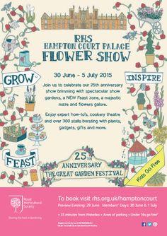 Hampton Court Flower Show 2015