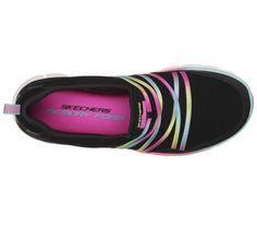 Skechers Sport Scene Stealer Memory Foam Fashion Sneaker Black/Multi Size 8 M #Skechers #BlackMulti