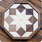 Maple and Walnut Octagon Mosaic - Wooden Puzzles, Classic Toys, Waldorf Toys at Palumba | Inspired Natural Living