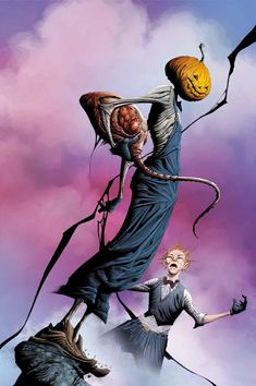 DC comics for October: this is the cover for The Dreaming drawn by Jae Lee. Comic Book Artists, Comic Artist, Comic Books Art, Book Cover Art, Comic Book Covers, Jae Lee, Lovecraftian Horror, Pulp Fiction Book, Dc Comics