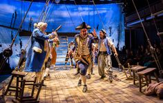 Treasure Island weighs anchor at Chicago's Lookingglass. The production opens Saturday night for a run through the end of January