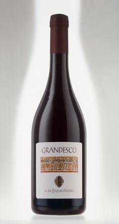 """Chiediamo @quaquariniwine come origina e perché il nome """"Grandesco"""" (Vespolina) #vino #naming #design #etichette"""