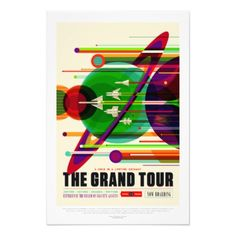 Vintage Grand Tour Solar System Travel Photo Print  $32.45  by PD_Graphics  - custom gift idea