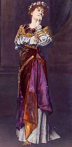 Dame Ellen Terry as Imogen