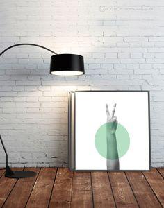 Lámina Hand 2 - A la venta en  http://ioshop.es/producto/hand-2/
