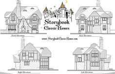 New Custom Homes in Maryland - Authentic Storybook Homes in Carroll, Howard, Frederick,& Baltimore Counties - 480 sq. to 1800 sq.ft.