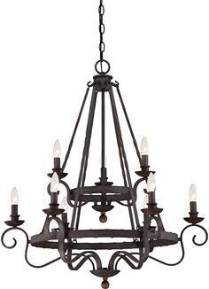 480 Watts 8 Light Imperial Bronze 28 H x 32 W 28 H x 32 W Farmhouse Chandelier Lighting, Modern Farmhouse Lighting, Foyer Chandelier, Wagon Wheel Chandelier, Black Chandelier, Chandelier Shades, Rustic Lighting, Chandeliers, Lighting Ideas